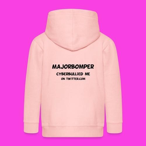 Majorbomper Cyberbullied Me On Twitter.com - Kids' Premium Hooded Jacket