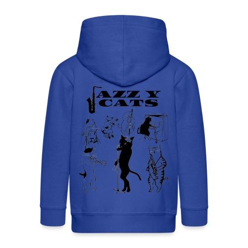 jazzy cats - Veste à capuche Premium Enfant