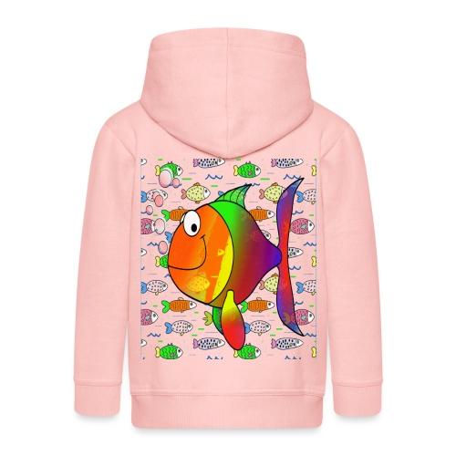 big fish - Veste à capuche Premium Enfant