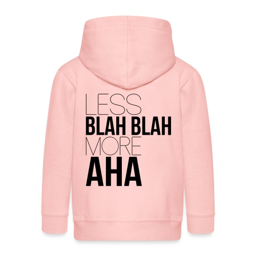less blah blah - Veste à capuche Premium Enfant