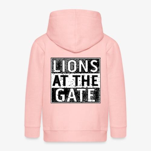 LIONS AT THE GATE BAND LOGO - Kinderen Premium jas met capuchon
