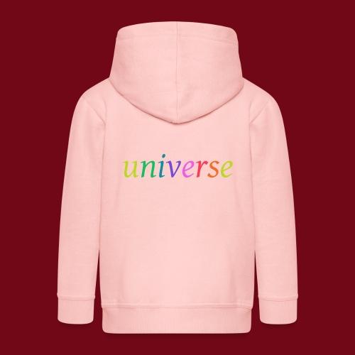 universe - Kinder Premium Kapuzenjacke