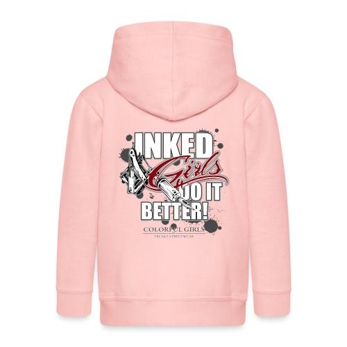 inked girls do it better - Kinder Premium Kapuzenjacke