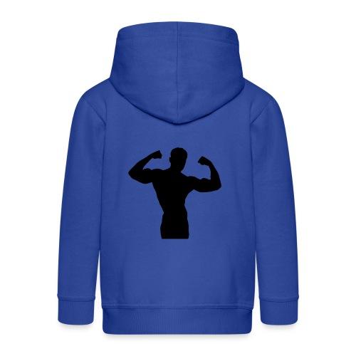 Musculation - Veste à capuche Premium Enfant