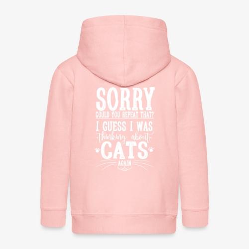 Sorry Cats II - Lasten premium hupparitakki