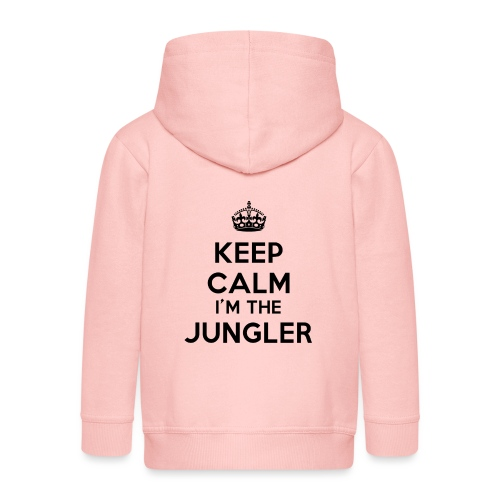 Keep calm I'm the Jungler - Veste à capuche Premium Enfant