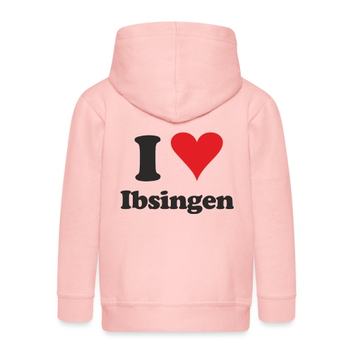 I Love Ibsingen - Kinder Premium Kapuzenjacke