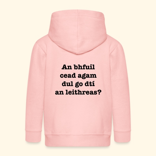 An Bhfuil Cead? - Kids' Premium Hooded Jacket