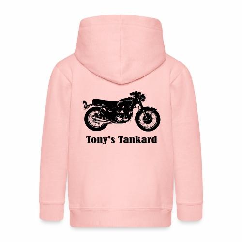 tonys tankard - Kids' Premium Zip Hoodie