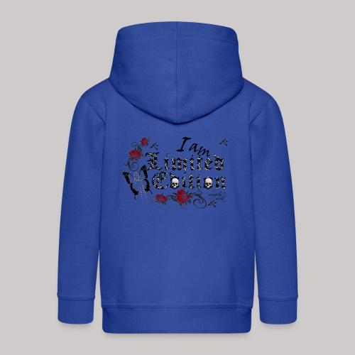 simply wild limited Edition on white - Kinder Premium Kapuzenjacke