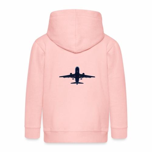 Flugzeug - Kinder Premium Kapuzenjacke