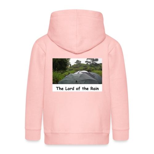 The Lord of the Rain - Neuseeland - Regenschirme - Kinder Premium Kapuzenjacke