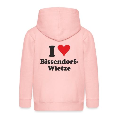 I Love Bissendorf-Wietze - Kinder Premium Kapuzenjacke