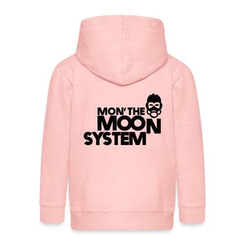 Mon' The Moon System - Kids' Premium Zip Hoodie