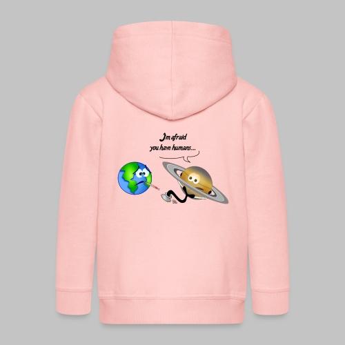 Sick Earth - Kids' Premium Zip Hoodie