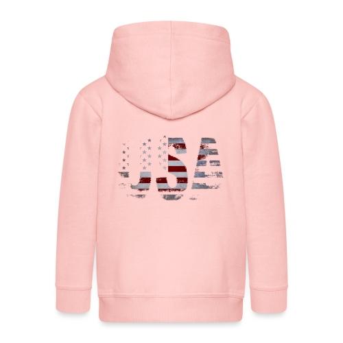 USA - Veste à capuche Premium Enfant