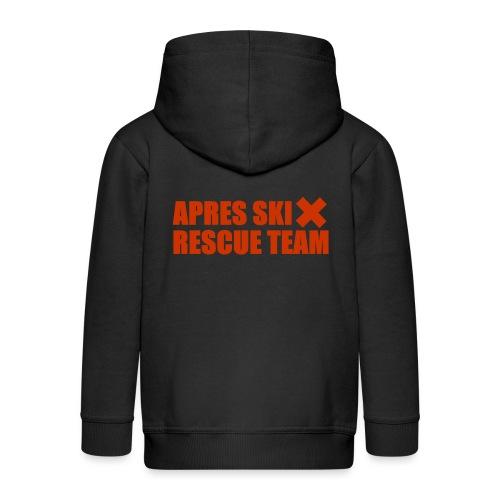 apres-ski rescue team - Kinderen Premium jas met capuchon