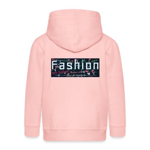 fashion kerstmis - Kinderen Premium jas met capuchon