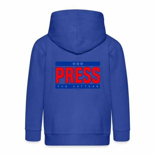 Press the buttons - Kinderen Premium jas met capuchon