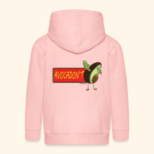 AvocaDON'T - Kids' Premium Zip Hoodie