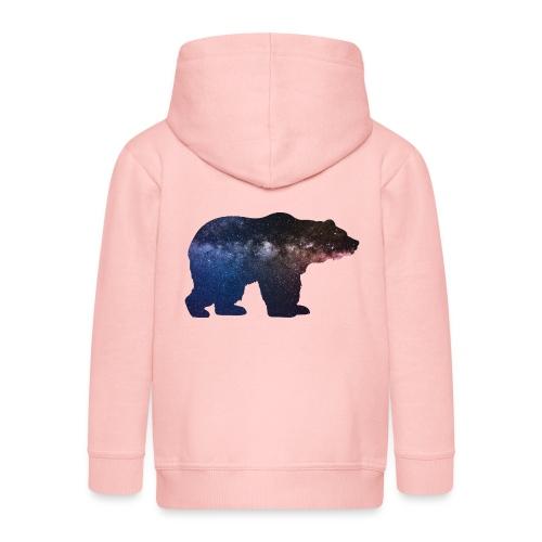 Großer Bär - Kinder Premium Kapuzenjacke