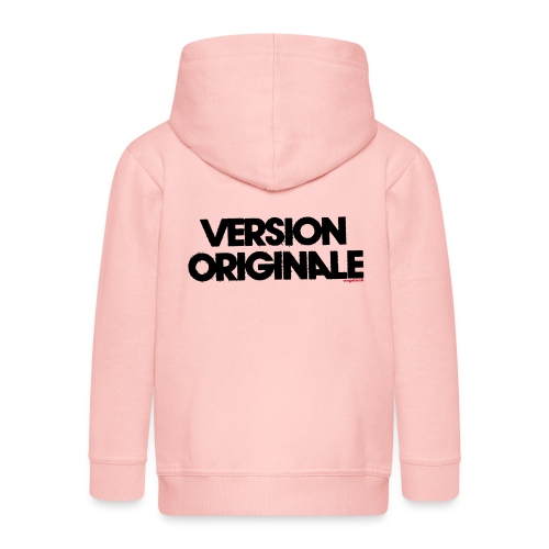 Version Original - Veste à capuche Premium Enfant