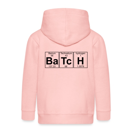 Ba-Tc-H (batch) - Full - Kids' Premium Zip Hoodie