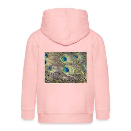 Peacock feathers - Lasten premium hupparitakki