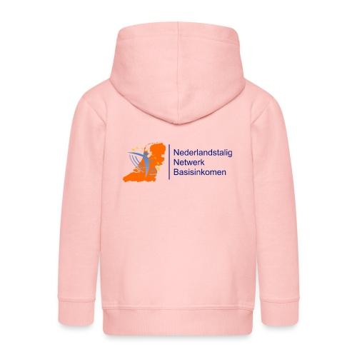 nederlandstalignetwerkbasisinkomen - Kinderen Premium jas met capuchon