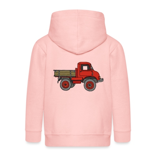Roter Lastwagen, LKW, Laster - Kinder Premium Kapuzenjacke