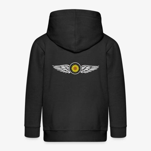 SOLRAC Wings - Chaqueta con capucha premium niño