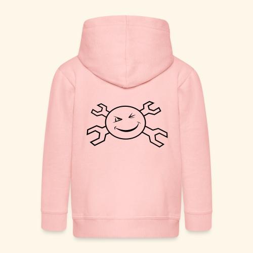 logo_atp_black - Kids' Premium Zip Hoodie