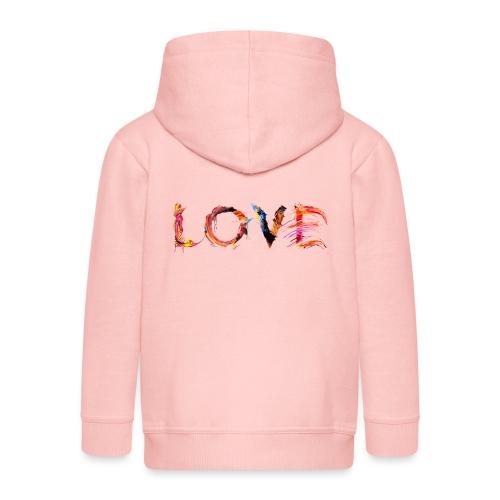 Love - Veste à capuche Premium Enfant