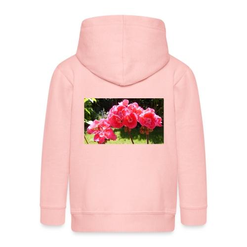 floral - Kids' Premium Zip Hoodie