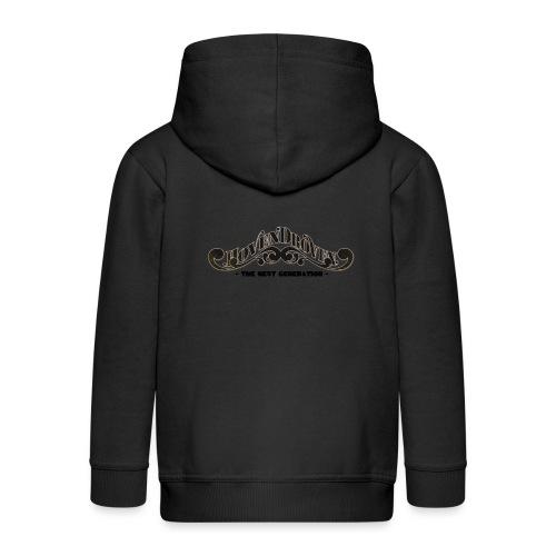 HOVEN DROVEN - Babydress - Kids' Premium Zip Hoodie