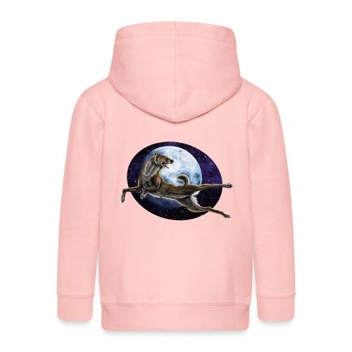 Galaxy Wolf - Kinder Premium Kapuzenjacke