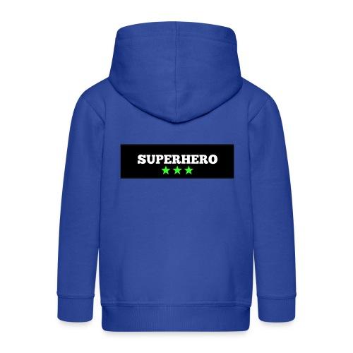 Lätzchen Superhero - Kinder Premium Kapuzenjacke