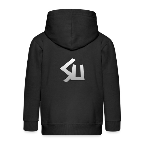 Plain SU logo - Kids' Premium Zip Hoodie