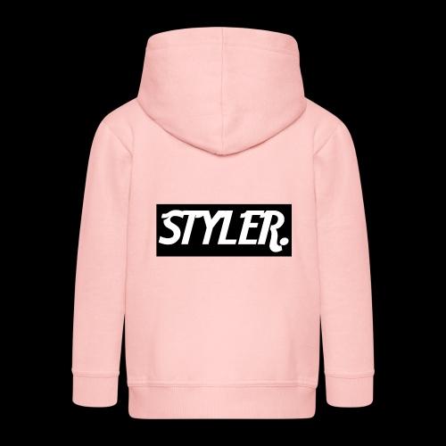 STYLER-LOGO - Veste à capuche Premium Enfant