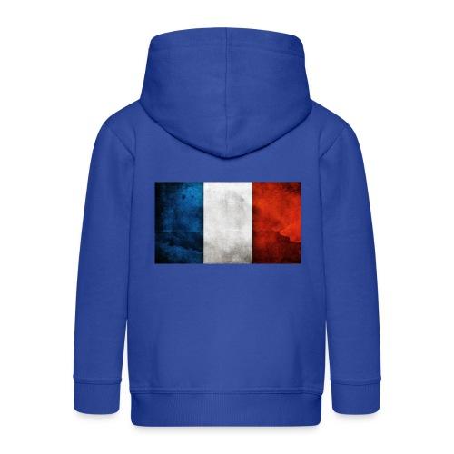 France Flag - Kids' Premium Zip Hoodie