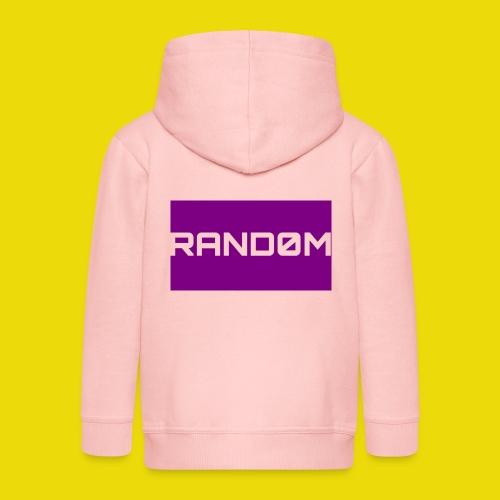 Random Logo - Kids' Premium Zip Hoodie