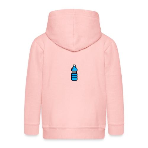 Bottlenet Tshirt Grijs - Kinderen Premium jas met capuchon