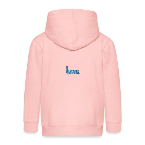 lucas - Kinderen Premium jas met capuchon