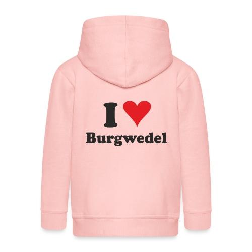 I Love Burgwedel - Kinder Premium Kapuzenjacke