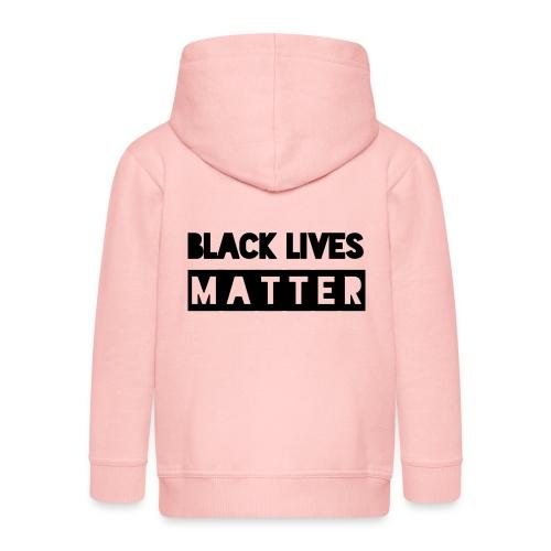 Black Lives Matter - Kinderen Premium jas met capuchon
