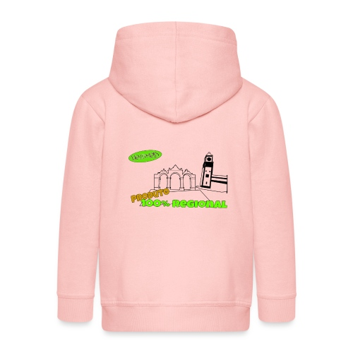 City Gates - Kids' Premium Zip Hoodie