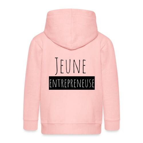 Jeune Entrepreneuse - Veste à capuche Premium Enfant