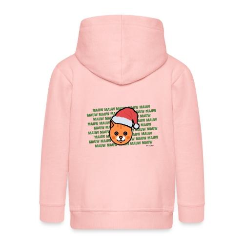 mauw - Kinderen Premium jas met capuchon