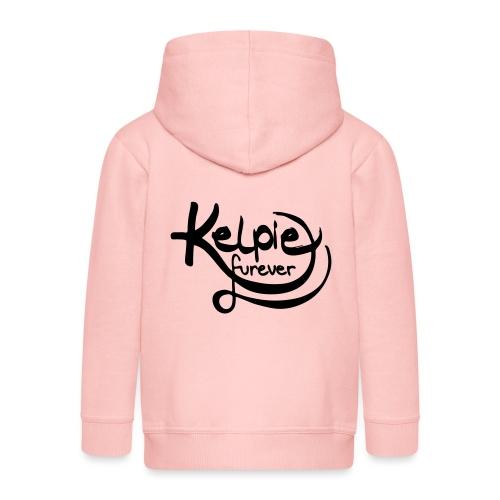 Kelpie furever - Kinder Premium Kapuzenjacke