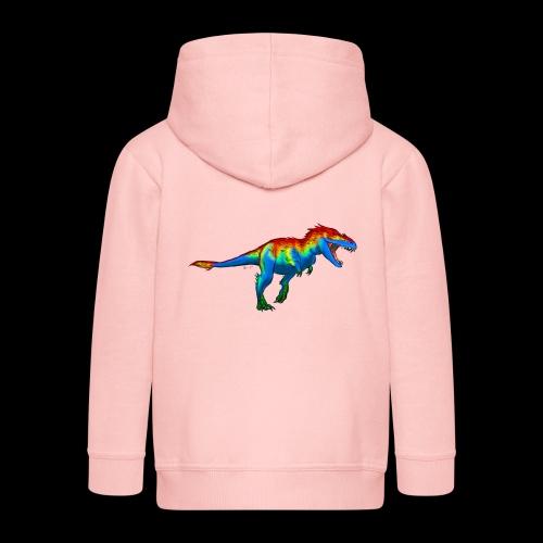 T-Rex - Kids' Premium Hooded Jacket